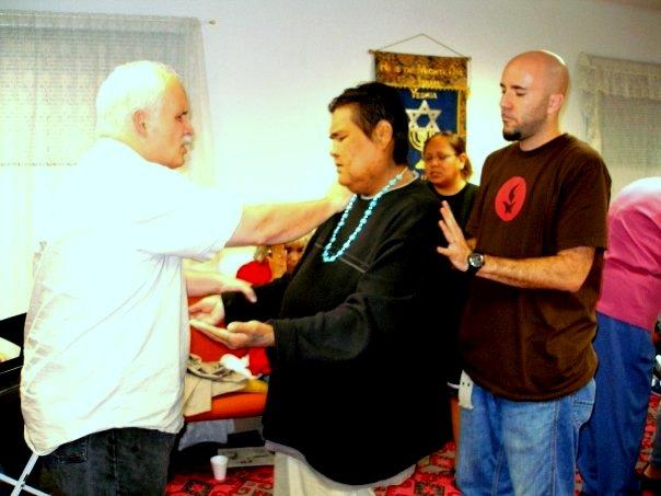 Navajo land Healing Revival, Farmington, New Mexico